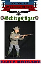 "1:6 SCALE WW2 GERMAN GEBRIGSJAGER MOUNTAIN TROOP 12"" ELITE BRIGADE FIGURE *NIB*"