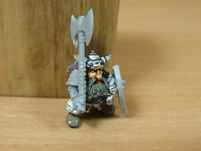 CONVERTED CLASSIC METAL NORSE DWARF WITH PLASTIC LARGE AXE UNPAINTED (1894)