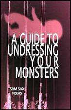 A Guide to Undressing Your Monsters, Sax, Sam, Good Book