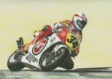 Kevin Schwantz Suzuki RGV500 Motorbike Motorcycle Racing Birthday Card