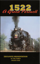 1522 A Grand Farewell DVD NEW Frisco Goodheart 4-8-2 Steam Train Video Ozarks