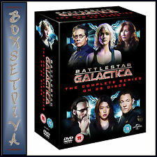 BATTLESTAR GALACTICA: THE COMPLETE SERIES - * BRAND NEW & SEALED DVD BOXSET**