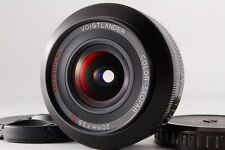 【MINT】 Voigtlander color skopar 20mm f/3.5 sl II for canon from japan #338