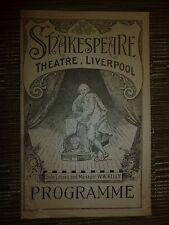 1926 Shakespeare Theatre: JUST MARRIED - Guy Newall Allan Drew Betty de Malere