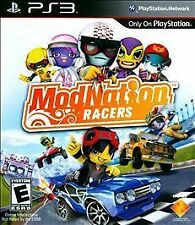 MODNATION RACERS - PlayStation 3 PS3 Exclusive Game BRAND NEW FACTORY SEALED!