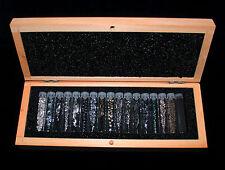 Technologiemetalle Set - 17 Chemische Elemente in Reinform - Metalle Sammlung