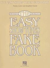 THE EASY SHOW TUNES FAKE BOOK100 SONGS IN THE KEY OF C (Fake Book)-ExLibrary