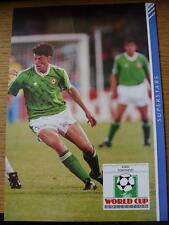 1990 Masterfile Super Stars Page/Card (A4): Republic Of Ireland - Townsend, Andy