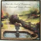 THOMAS KINKADE Love Will Grow SUNCATCHER Kincade, New in Box (box damaged)