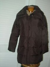 CALVIN KLEIN DOWN JACKET/COAT~SZ~M~NWTS~$275~BROWN 100% DOWN PAST HIP COAT