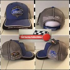 Jimmie Johnson 2016 Checkered Flag #48 Lowe's Sponsor 7X Champion Hat FREE SHIP