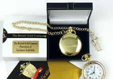 LEONARD COHEN 24K GOLD clad Signed Lyrics POCKET WATCH  LUXURY Gift Case