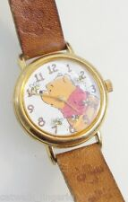 Timex Winnie The Pooh Watch Brown Leather Strap