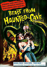 BEAST FROM HAUNTED CAVE NEW DVD