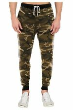Men's Jogger Pants Camo Fashion Trousers Casual Sports Thick Jogger SweatPants