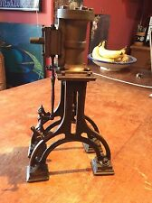 Rare Antique Model Live Steam Engine Vertical Attic Find - Excellent example VGC