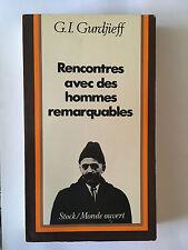 RENCONTRES AVEC DES HOMMESREMARQUABLES 1979 GURDJIEFF