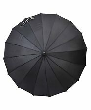 Black Windproof Umbrella (UC03-Black)