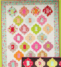 Moroccan Tiles - fabulous pieced quilt PATTERN for special fabrics