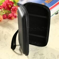 "2.5"" Portable External Hard Disk Drive Pouch Bag Carry Case Cover w Strap Black"