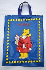 PADDINGTON BEAR CHILD'S CHILDREN'S PVC COATED COTTON BAG WITH GUSSET