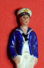 Vintage Navy Sailor Soldier Porcelain Antique Vintage Toy Free Shipping