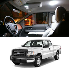 7x White Interior LED Dome Map Lights Package Kit For Ford F-150 2004-2013 L322W