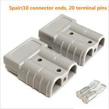 10x 50a 6awg Plug connessione Batteria Kit Connettore Rapido Scollegare VERRICELLO PER AUTO CAMION