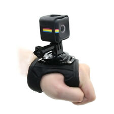 TELESIN Glove Wrist Band Hand Strap w/ Frame Mount Adapter for Polaroid Cube