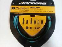 Jagwire ROAD PRO RACER CELESTE Bike Cable Set Gear & Brake Shimano & Campagnolo