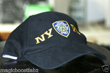 NYPD New York Police Department Blue Yellow Colosseum Cap Hat One Size Adjust