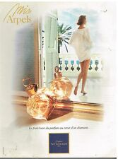 "Publicité Advertising 1994 Parfum ""Miss Arpels"" par van Cleef & arpels"