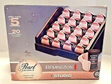 "Remington Pearl Ceramic Heated Clip Hair Rollers "" SELLER REFURBISHED """
