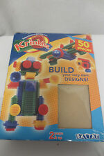 Krinkles Bristle Block Retro Building Toy