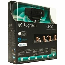 NEW Logitech HD Pro C920 Web Cam Widescreen Video Calling and Recording, 1080p
