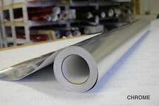 Silver Chrome Vinyl 5ft x 38ft Bubble-Free Wrap for Car Bike Boat Trailer