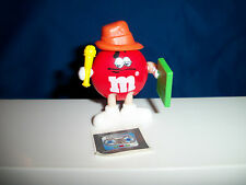 M&M Red REPORTER / RAPPER M&M's French Pocket Surprise OCCUPATIONS Figurine M&Ms