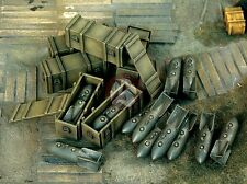Verlinden 1/48 German Luftwaffe 250kg SC-250 Bombs and Bomb Crates WWII 1123