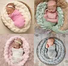 Newborn Baby Photography Fabric Wrap Infant Photo Prop Blanket Rug Backdrop gift