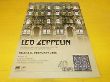LED ZEPPELIN - Physical graffiti - Publicité de magazine / Advert !!!