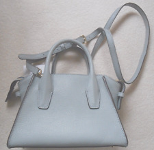 DKNY 'Chelsea' Soft Blue Leather Handbag