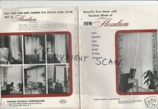1936 HUNTER DOUGLAS Home Decor FLEXALUM Venetian Blinds 10 Reasons Why Catalog