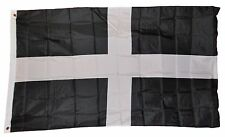 CORNWALL ENGLAND BRITISH FLAG SIZE 3 X 5 3X5 FEET POLYESTER NEW