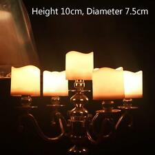 Rechargeable Flickering Battery Operated LED Tea Light Candle Remote Control UP