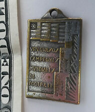 Extremely rare soccer medal URUGUAY CHAMPION Olympics 1924 1928 & 1930 World Cup
