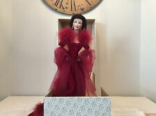 Gone with the Wind Scarlet O'Hara Franklin Mint Gold Standard Doll