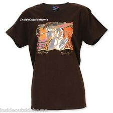Laurel Burch Moroccan Mares T Shirt Short Sleeve Cotton NEW SMALL