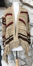 Ralph Lauren Women's Southwest Indian Blanket Draped Cardigan Sweater Sz PXS PS