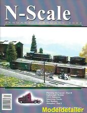 N Scale Jan.2002 Layout Detailing Trucks Trailers CN Coal Shed Picket Fence DCC