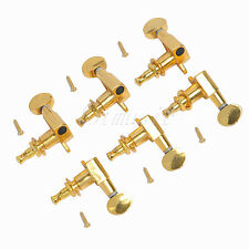 2Set Gold Electric Guitar Tuning Machine Heads 3L3R For Fender Gibson Tuner Pegs